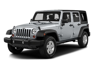 Jeep Wrangler Unlimited Sport Gris Oscuro 2016