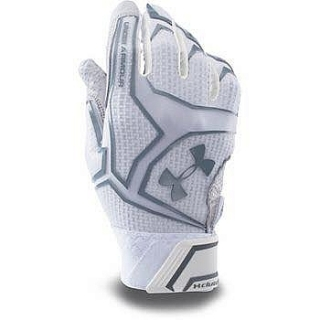 Guantes Under Armour blancos