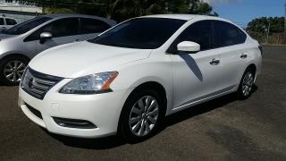 Nissan Sentra S Blanco 2014