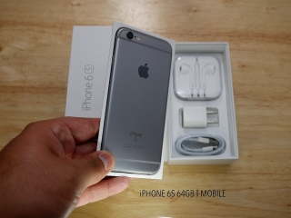 iPHONE 6s 64GB T-MOBILE en CAJA COMO NUEVO