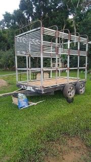 Carreton para 4 caballos