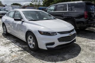 Chevrolet Malibu Ls White 2017