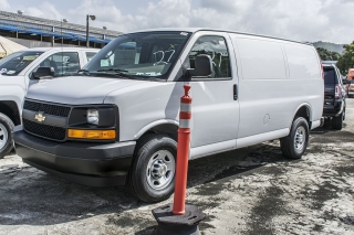 Chevrolet Express Cargo Van White 2017