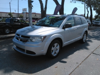Dodge Journey Silver 2013