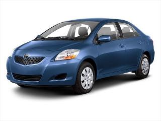 Toyota Yaris Gray 2012