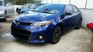 Toyota Corolla Azul 2015