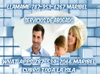 Dios te bendiga!!!!!!!  Necesitas abogado llamame 787-953-6267 MARIBEL
