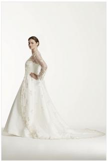 Venta de traje de boda -David Bridal
