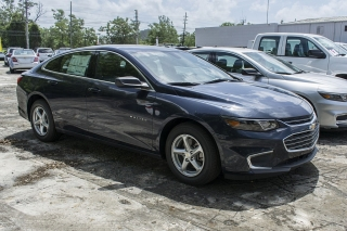 Chevrolet Malibu Ls Blue 2017