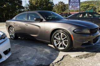Dodge Charger R/T Gray 2015