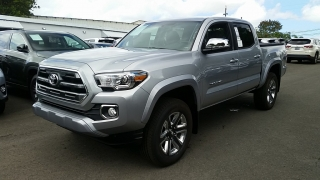 Toyota Tacoma Limited Silver 2017