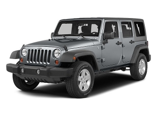 Jeep Wrangler Unlimited Sport Gris 2014