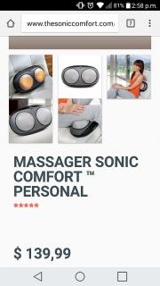 Maquina de masaje