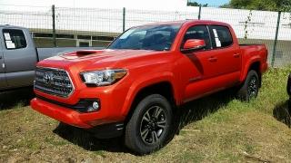 Toyota Tacoma Red 2017