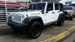 Jeep Wrangler Unlimited Sport Blanco 2012