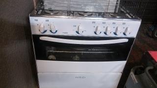Estufa de gas 6 hornillas y horno