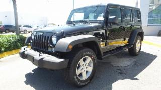 Jeep Wrangler Unlimited Sport Negro 2017