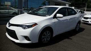 Toyota Corolla LE Blanco 2016