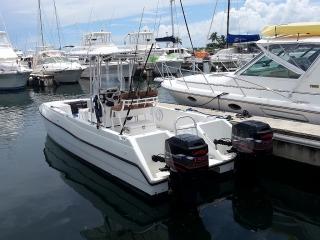 Catamaran Fishing Center Console Boat en Puerto Rico