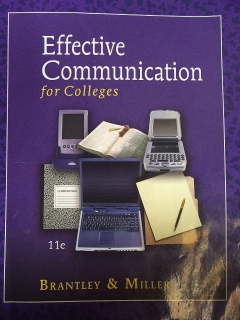 Efffective Communication for Colleges 11e.