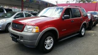 Ford Explorer XLS Rojo 2002