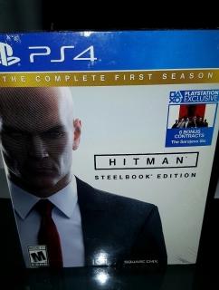 Hitman PS4 nuevoooo