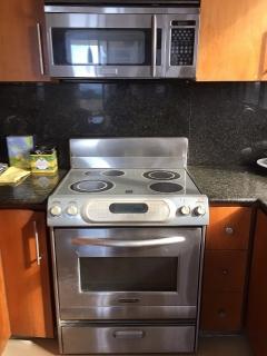 Estufa eléctrica stainless steel y horno