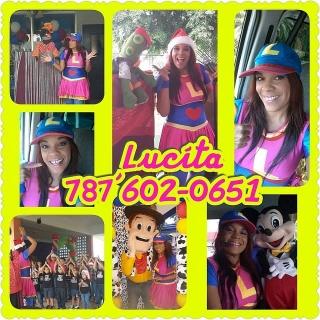 Show Lucita y sus titeres-787-602-0651