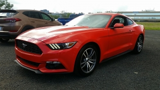 Ford Mustang Ecoboost Anaranjado 2016