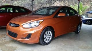 Hyundai Accent GL Anaranjado 2016