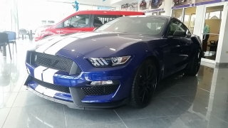 Ford Mustang Shelby GT350 Azul 2016