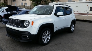 Jeep Renegade Latitude Blanco 2016