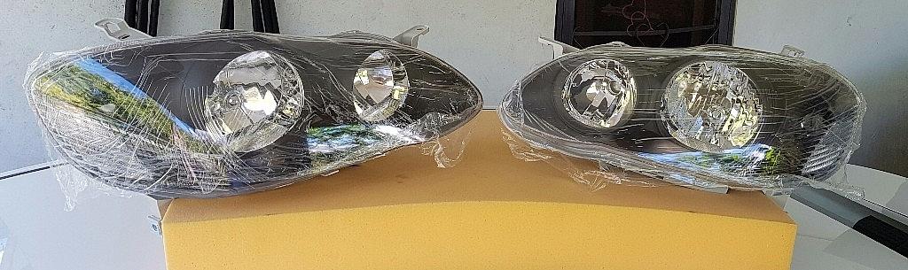 Focos Toyota Corolla 2003 al 2008 Nuevos