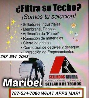 Quiero ayudarte con tu techo cubro toda la isla cotizacion gratis 787-534-7062 Maribel