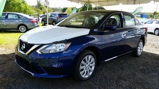 Nissan Sentra S Azul 2017