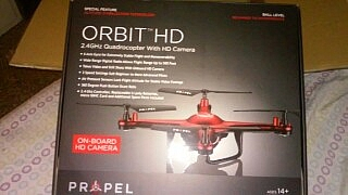 Orbit HD 24 Quadrocopter with HD camera