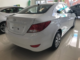 Hyundai Accent 2017 Blanco