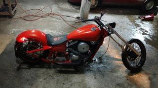 Chopper Kawasaki Motor 800 del 2003
