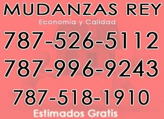 MUDANZAS REY 787-526-5112/787-996-9243 ECONOMICAS