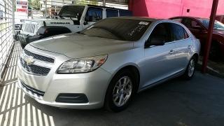 Chevrolet Malibu LS Plateado 2013