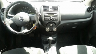 Nissan Versa S Gris Oscuro 2012