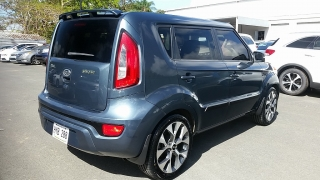Kia Soul Player Azul 2012