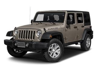 Jeep Wrangler Unlimited Rubicon Negro 2017