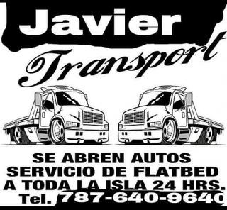 Javier towing