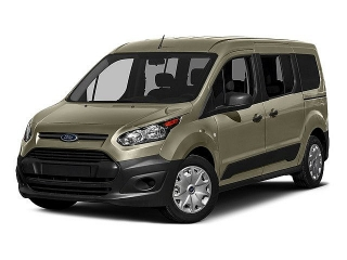 Ford Transit Connect Wagon XLT Rojo 2016