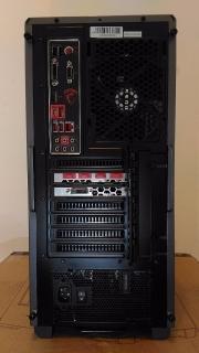Gaming PC AMD Ryzen 7 1700 MSI NVIDIA GTX 1070 8GB GDDR5