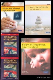 Libros de enfermería desde $50 hasta $75