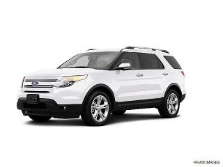 Ford Explorer Limited Blanco 2013