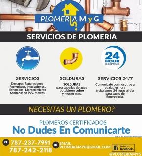 Servicio de Plomeria 24/7