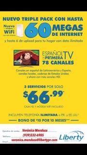 Servicio de cable/internet/tel